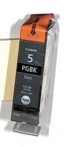 GENUINE CANON PIXMA PGBK 5 BLACK INK CARTRIDGE PGI-5BK SEALED NO BOX - $8.41