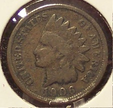 1906 Indian Head Penny G #0382 - $1.59