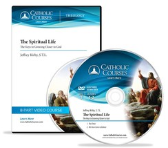 The Spiritual Life: The Keys to Growing Closer to God (DVD + 1 Lecture Guide) image 1