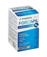 Arkopharma Forcapil 60 CAPS Vitamins Minarals  STRONG HAIR & NAILS . UK stock  - $15.40
