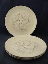 "2 Homer Laughlin Rhythm Capri 10 1/8"" Dinner Plates Mid-Century Modern - $12.00"