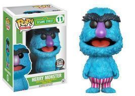 Sesame Street: Herry Monster Funko POP Vinyl Figure (Specialty Series) *... - $19.99