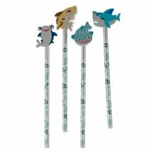 Shark Pencil with Eraser Topper, Christmas Gift/Present/Stocking Filler - $2.58