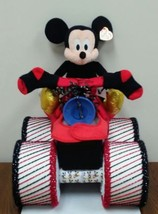 Disney Mickey Mouse Themed Baby Shower Four Wheeler Diaper Cake Gift - $80.00