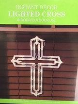 New Easter 43 Super Bright Lighted Cross Window/Wall Silhouette Decoration - €16,95 EUR