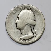 1932D George Washington Quarter 90% Silver Coin Lot# E 191
