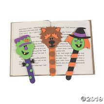 Halloween Character Bookmark Craft Kit (1 Dozen) - $7.74