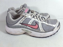 Nike Compete 2 Womens Athletic White Pink Shoes 8,5, 40 EU S5 - $22.99