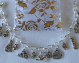 Kittens Cats Mouse Mice Theme Charm Bracelet SP Handcrafted  + Organza Gift Bag