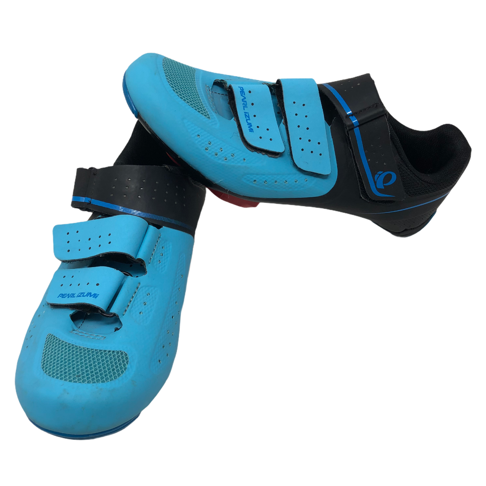 Pearl Izumi Women's Select Road v5 Shoe Teal Black Cycling Shoes Size 38 Bicycle - $64.34