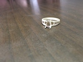 925 Sterling Silver Semi Mount Ring Setting 5x7 mm Pear Shape Stone US S... - $9.49+