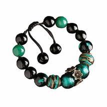 Woven Jewelry Ethnic Handmade Bracelets Agate Bracelet Retro Chinese Style