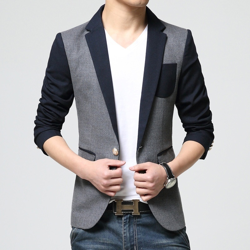 The new men's clothing wholesale Korean men's casual suit Slim small suit jacket