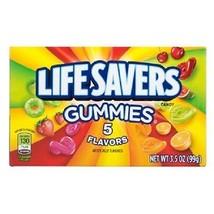 Lifesavers 5-Flavors Gummies, 3.5-oz. Box (Pack of 3)  - $12.19