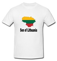 Son of Lithuania Lithuanian Flag Country T-shirt New White S, M, L, XL, XXL - $20.00