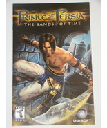 Playstation 2 - PRINCE OF PERSIA - THE SANDS OF TIME (Replacement Manual) - $8.00