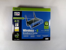 Linksys WIRELESS-G Broadband Router Complete In Box 4 Port 54 Mbps 802.11G - $32.99