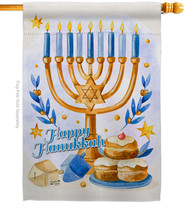 Jewish Festival - Impressions Decorative House Flag H137325-BO - $36.97