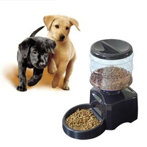 Food Bowl Dispenser 5.5L Automatic Pet Feeder Voice Message Recording LC... - $56.99+