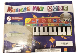 Cyiecw Piano Music Mat w/19 Keys, 8 Musical Instruments, Speaker & Recording image 5