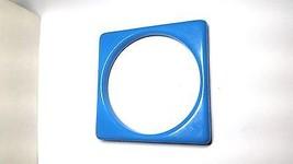 Blue Square Vintage Lucite Bangle Bracelet New Old Stock - $18.59