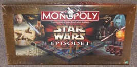 1999 Star Wars Episode 1 Monopoly Collector Edition 3-D Gameboard New In... - $94.99