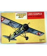 NEW Mikro 72, S-01, LWS (RWD-14) Czapla Polish observation plane/trainer... - $9.49