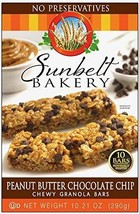 Sunbelt Bakery Peanut Butter Chocolate Chip Chewy Granola Bars 10. 21 oz... - $14.99