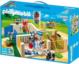 Playmobil #4009 Zoo Care Station Super Set New Sealed - $158.95