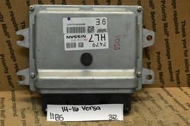 2014-2016 Nissan Versa 1.6L Engine Control Unit ECU BEM332300A2 Module 3... - $9.99