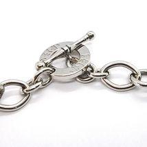 925 Silber Halskette, Kette Oval Quadratisch, Abwechselnde, Lang 48 cm, T image 4