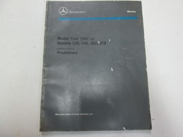 1997 Mercedes Models 129 140 202 210 Prelim Intro into Service manual WO... - $69.29