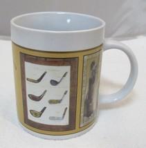 2005 Arnie R Fisk Vintage Golfing Golf Balls Clubs 2005 Sherwood Coffee Mug - $29.69