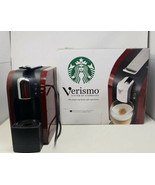 Starbucks Verismo System Single Cup K-Fee Red Burgundy Coffee Maker - EUC - $89.05