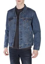 Levi's Men's Cotton Button Up Denim Jeans Trucker Jacket Shelf Blue 723340136 image 1