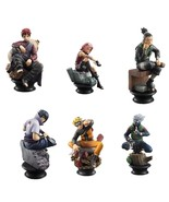 Naruto Shippuden Chess Piece Collection R - Complete Box Set of 6 - $99.90