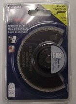 "Bosch OSC312DG 3-1/2"" x 1/8"" Diamond Grit Blade For Grout Removal Swiss - $13.86"