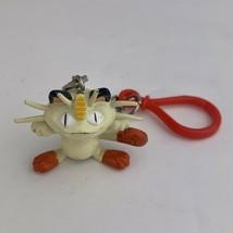 Pokemon Meowth Nintendo Figure Key Chain  1999 - $9.01