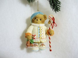 Cherished Teddies Ornament 2010 May Your Holidays Be Sweet  NIB - $44.50