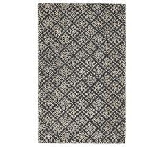 Pottery Barn 5x8 8x10 9x12 Rahan Hand Tufted Wool Area Rug - $369.00+