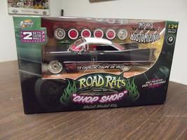 """JADA Road Rats '59 Cadillac """"Coupe De Ville"""" Chop Shop Model Kit 1:24 Rat Rod - $59.39"""