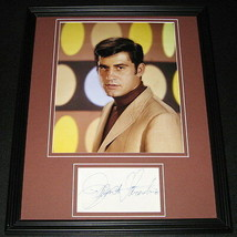 James Farentino Signed Framed 11x14 Photo Poster Display Jesus of Nazare... - $52.00