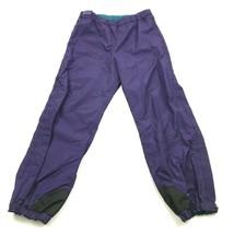Nuevo Clásicos Columbia Hombre Morado Esquí Snowboard Pantalones Cremallera - $29.85