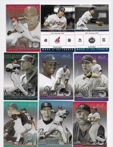 2005 FLEER SHOWCASE 53 CARD + 2 WAVE OF THE FUTURE INSERTS MINT CARDS - $0.99