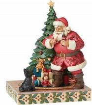"Jim Shore ""Not so Silent Night"" Santa with Coke Figurine 8"" Resin. - £51.11 GBP"