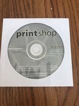 The Print Shop Art CD 1 Broderbund Ships N 24h - $14.68