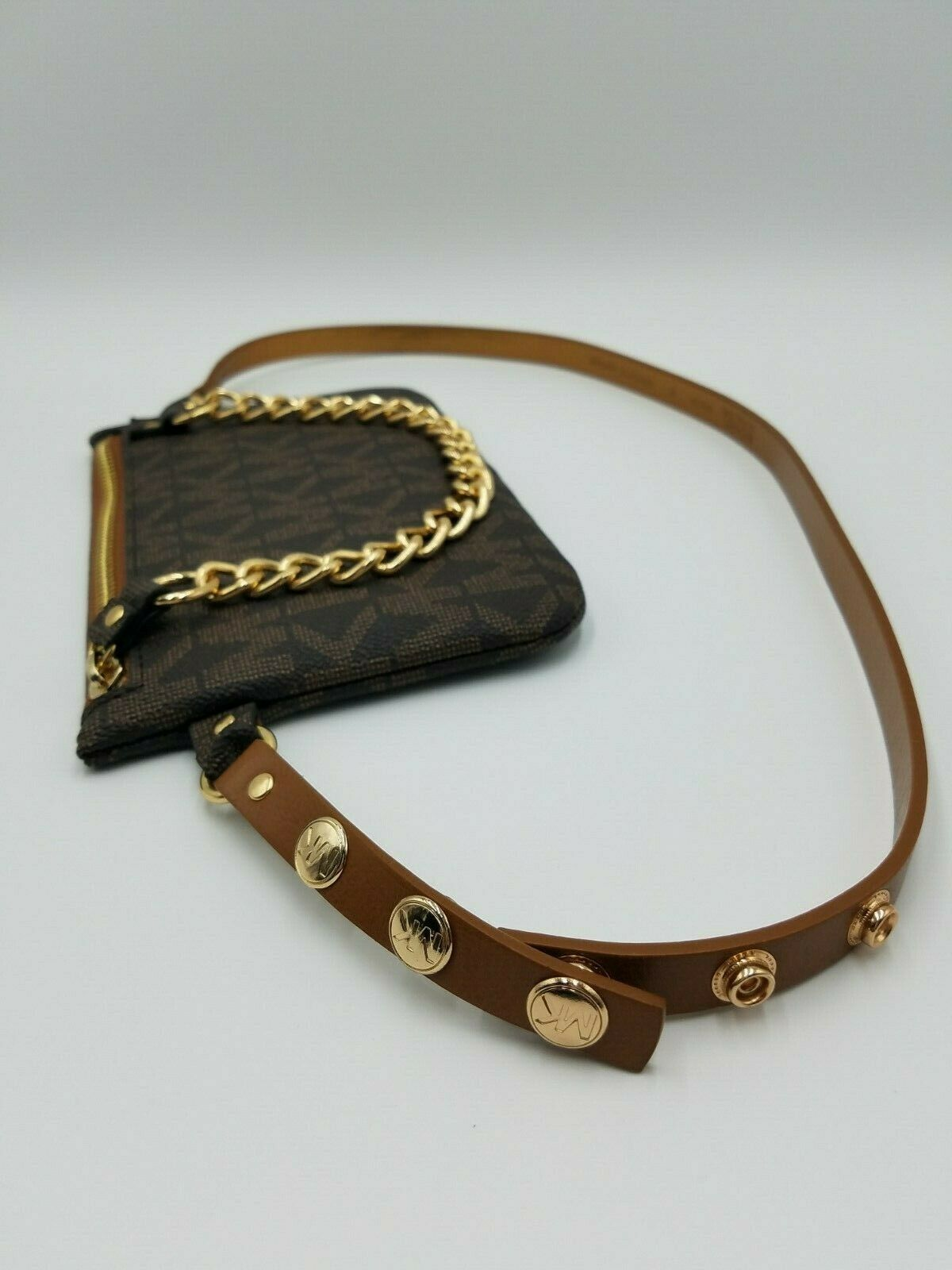 Brand New Trending Michael Kors MK Fanny Pack Belt Bag with Pull Chain