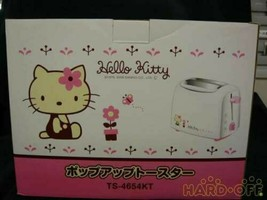 Sanrio Hello Kitty Pop-up Toaster Microwave F/S from JP in good condition - $166.30