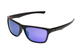 Oakley Holston OO9334 0958  Sunglasses Black Violet Iridium Lens - $141.57