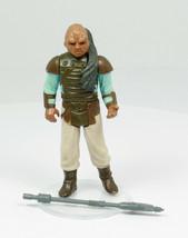 Star Wars Vintage Kenner Sw Rotj 1983 Weequay Action Figure No Coo Var 100% Comp - $21.99